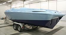 Lackierung inkl. Antifouling für ein Motorboot