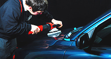 Fahrzeugaufbereitung außen