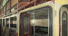 Eine Herausforderung für die Karosseriebau: Sämtliche Fensterrahmen mussten erneuert werden