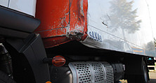 Die Aufgabe für den Karosseriebau: der instandzusetzende LKW-Kofferschaden