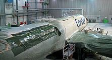 Flugzeuglackierung für einen Design-Wechsel – auditiert und LBA-zugelassen