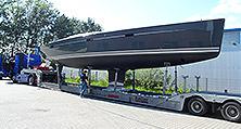 Besser als neu: Die Hanse 470e nach ihrer kompletten Yachtlackierung nahe Berlin