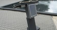 Geschliffen, gespachtelt, grundiert und lackiert: Ein Rednerpult für die Vertretung des Landes Nordrhein-Westfalen in Berlin