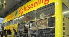 Komplettrestaurierung eines Busses durch Instandsetzung und Karosseriebau