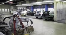 Lackierarbeitsplätze in der heller Lackiererei GmbH