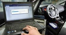 Diagnose/Scan der Fahrzeugelektronik im Rahmen der Unfallinstandsetzung