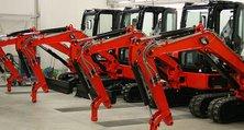 Lackierung von Baumaschinen und anderen Großfahrzeugen auch in (Klein-)Serie